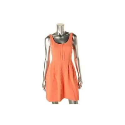 ドレス ワンピース Jessica Simpson Jessica Simpson 9140 レディース Pleated ノースリーブ U-Neck カジュアル ドレス BHFO