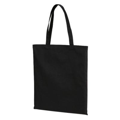 トートバッグ バック キャンバス フラット スタンダード エコ L サイズ ブラック 無地 ユナイテッドアスレ CAB