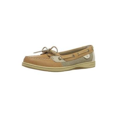 ブーツ 海外セレクション Sperry 9102047-070M Women's Angelfish Linen Oat Boat Shoe, 7M Size
