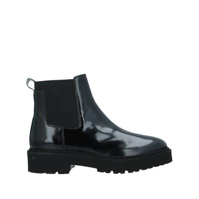 ホーガン HOGAN ショートブーツ ブラック 37 革 / 紡績繊維 ショートブーツ