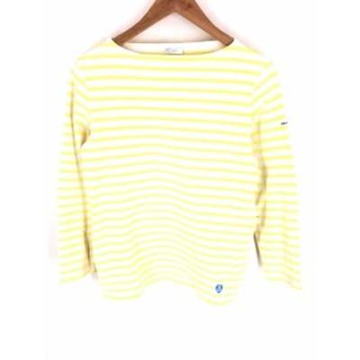 オーチバル ORCIVAL UネックTシャツ サイズ表記無 レディース 【中古】【ブランド古着バズストア】