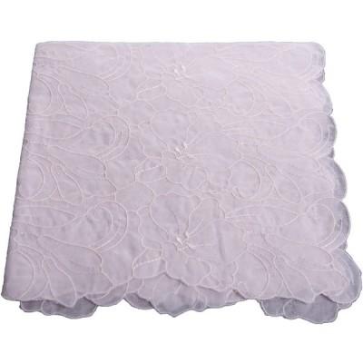 フォーマルハンカチ オールオーバーゆり 花嫁 結婚式 ウェディングドレス 婦人用 冠婚葬祭 (ピンク)