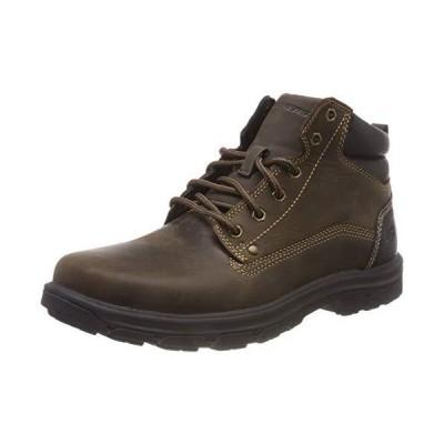 海外取寄品--Skechers Men's Segment- Garnet Hiking Boot, Chocolate, 10.5 Medium U