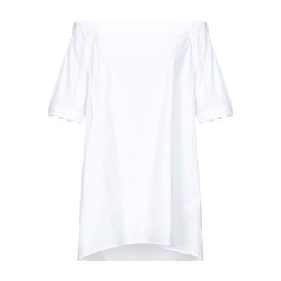 エミスフィール HEMISPHERE ブラウス ホワイト XS コットン 78% / ナイロン 18% / ポリウレタン 4% ブラウス