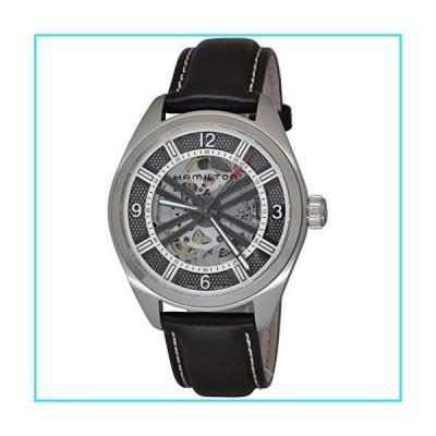 Hamilton Khaki Skeleton Swiss Automatic Analog Silver Dial Men's Watch H72515585【並行輸入品】