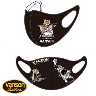 バンソン VANSON TOM and JERRY TJV-2107 ポリウレタンフェイスマスク 2柄1セット 2枚セット 洗える バイカー バイク メンズ