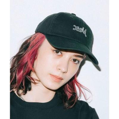 エックスガール X-girl OUTLINE MILLS LOGO CAP (BLACK)