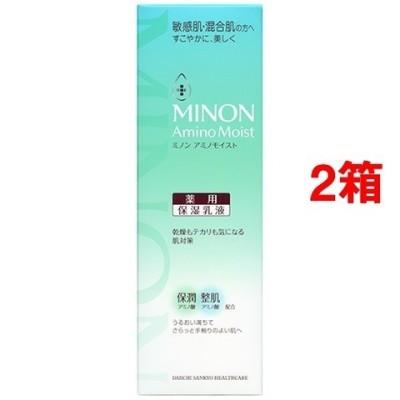 ミノン アミノモイスト 薬用アクネケア ミルク (100g*2箱セット)