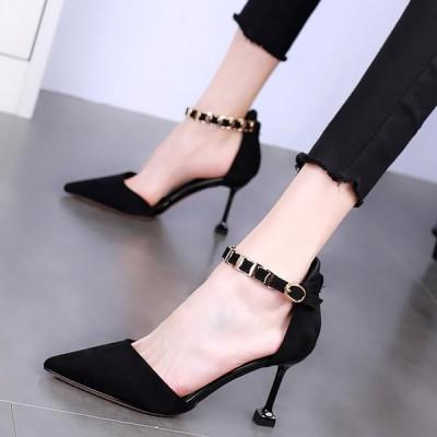 ヒール8.5cm/サイズ22-24.5cm レディース靴 シューズ ハイ・ヒール パンプス オフィス 通勤 結婚式 2次会 痛くない 美脚