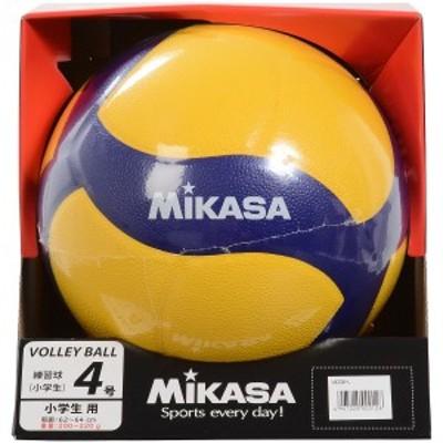 ミカサ バレーボール 4号軽量 バレー4号 軽量練習球 黄/青 V420W-L ジュニア 4