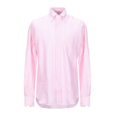 ORIAN シャツ ピンク M リネン 100% シャツ