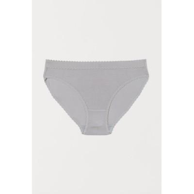 H&M - Bikiniショーツ モダール - グレー