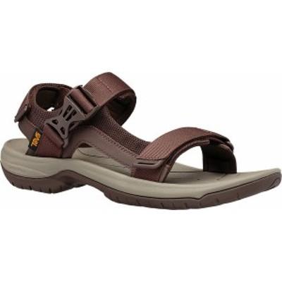 テバ メンズ サンダル シューズ Men's Teva Tanway Active Sandal Chocolate Brown Synthetic