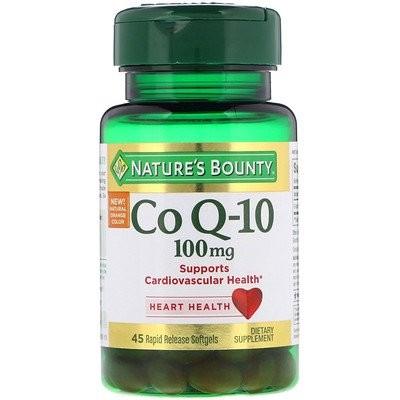 Co Q-10, 100 mg, 45 Rapid Release Softgels