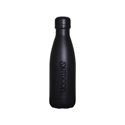 アウトドアプロダクツ ステンレス ボトル 保温保冷 水筒(直飲み) ブラック 400ml 314-471