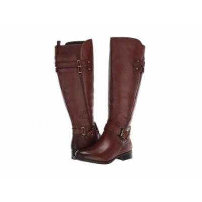 Naturalizer ナチュラライザー レディース 女性用 シューズ 靴 ブーツ ロングブーツ Jackie Wide Calf Chocolate Leather【送料無料】