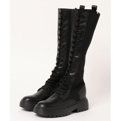 GYDA / ニットドッキングインソールワークブーツ WOMEN シューズ > ブーツ