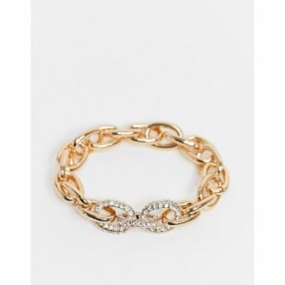 アルド ALDO レディース ブレスレット ジュエリー・アクセサリー Shepstone Diamante Chain Bracelet In Gold