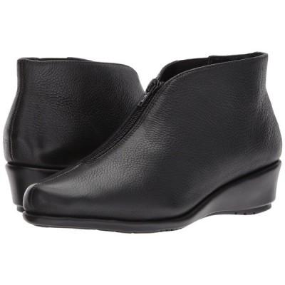 エアロソールズ ブーツ&レインブーツ シューズ レディース Allowance Black Leather