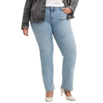 リーバイス レディース デニムパンツ ボトムス Plus Size Classic Straight Oahu Morning Dew Jeans