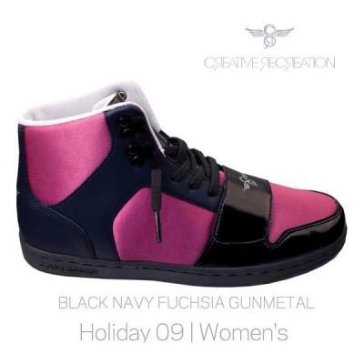 【SALE】クリエイティブ レクリエーション セサリオ ウィーメンズ ブラック/ネイビー/フクシア/ガンメタル CR8 WCR449 CESARIO WOMENS Black