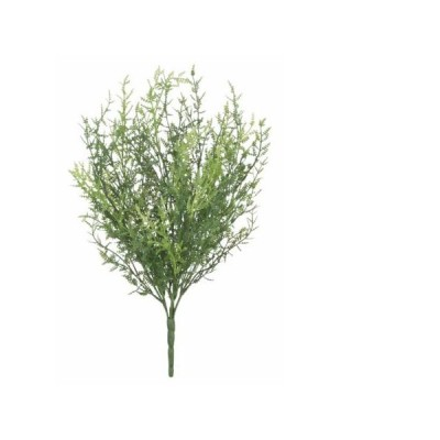 フェザーファンブッシュ7本セット(造花 人工観葉植物 インテリア DIY 壁面装飾)(屋外使用可能)