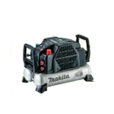 マキタ 高圧エアコンプレッサ(タンク容量:11L)(空気取出口:高圧2、常圧2) AC462XLB(黒)(3段階のタンク内圧力切替機能搭載)