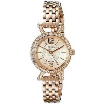 腕時計 フォッシル Fossil レディース ES3894 'Georgia Cordell' クリスタル ローズトーン ステンレス スチール 腕時計