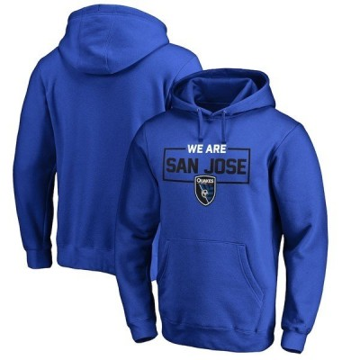ファナティクス ブランデッド メンズ パーカー・スウェット アウター San Jose Earthquakes Fanatics Branded We Are Pullover Hoodie