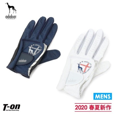 【50%OFFセール】片手用グローブ メンズ アダバット adabat 2020 春夏 新作 ゴルフ