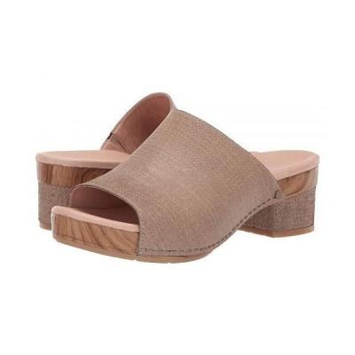 Dansko ダンスコ レディース 女性用 シューズ 靴 ヒール Maci - Taupe Textured Leather
