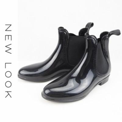 NEW LOOK (ニュールック) サイドゴア レインブーツ