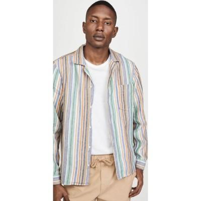 プレジデンツ President's メンズ シャツ トップス rangi solbiati stripe shirt Multicolor