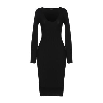 リュー ジョー LIU •JO ミニワンピース&ドレス ブラック 46 70% レーヨン 30% ポリエステル ミニワンピース&ドレス