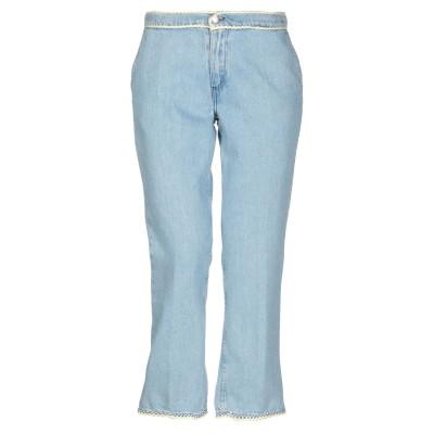 ジョルネ JOUR/NÉ ジーンズ ブルー 36 指定外繊維(紙) 100% ジーンズ