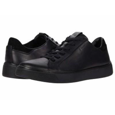 エコー メンズ スニーカー シューズ Street Tray GORE-TEX Sneaker Black