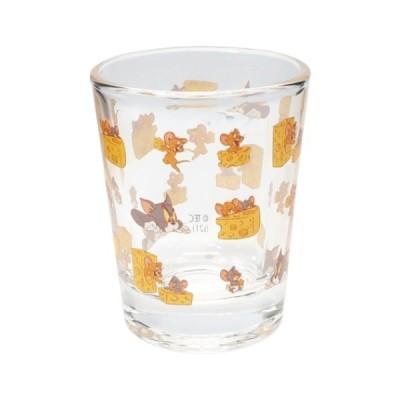 ショットグラス ミニグラス チラシ柄 トムとジェリー ワーナーブラザース サンアート 50ml プチギフト かわいい キャラクター