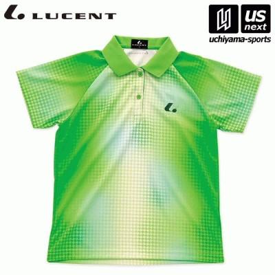 ルーセント テニス ソフトテニス レディース Ladies ゲームシャツ パステルグリーン(XLP4655) 2021〜22年秋冬モデル [M便 1/1][取り寄せ][自社](P3倍)