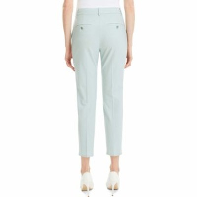 セオリー THEORY レディース クロップド ボトムス・パンツ Treeca 2 Good Wool Crop Suit Pants Opal Green