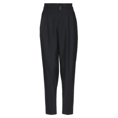 SLOWEAR パンツ ブラック 38 ポリエステル 54% / ウール 44% / ポリウレタン 2% パンツ
