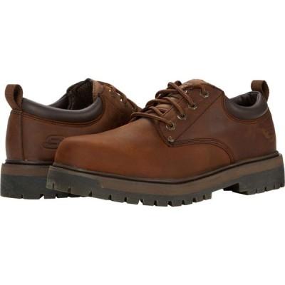 スケッチャーズ SKECHERS メンズ 革靴・ビジネスシューズ シューズ・靴 Alley Cats - Mesago Dark Brown