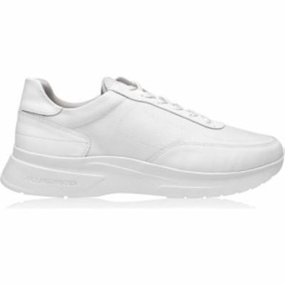 フィリング ピース FILLING PIECES メンズ スニーカー シューズ・靴 moda jet roll trainers White