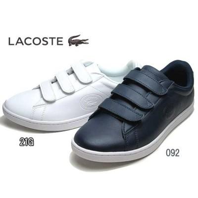 ラコステ LACOSTE ウィメンズ CARNABY EVO STRAP 318 1 スニーカー レディース 靴