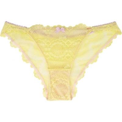 ドリーナ Dorina レディース ショーツのみ インナー・下着 Isla Brazilian Briefs Yellow