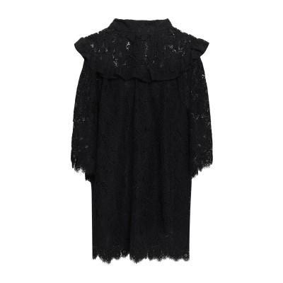 PERSEVERANCE ミニワンピース&ドレス ブラック 12 ナイロン 42% / コットン 41% / レーヨン 17% ミニワンピース&ドレス