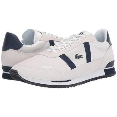 ラコステ Partner Retro 120 1 メンズ スニーカー 靴 シューズ Off-White/Navy