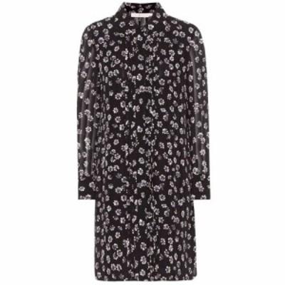 トリー バーチ Tory Burch レディース ワンピース ワンピース・ドレス avery floral-printed silk dress Black Stamped Floral