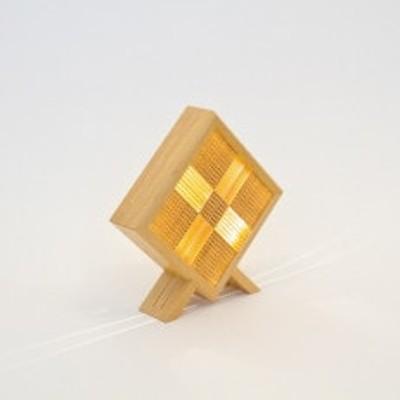 青森ヒバを使用した組子細工による照明器具 「彼方 かなた」木のあかり 林木工芸
