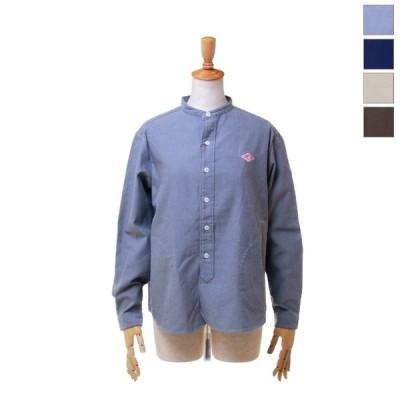DANTON ダントン レディース ソフト起毛 長袖 バンドカラーシャツ JD-3606 VSS 日本正規代理店商品