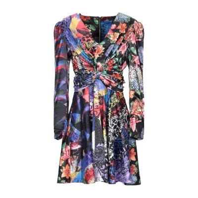 NORA BARTH ミニワンピース&ドレス ブラック 40 ポリエステル 97% / ポリウレタン 3% ミニワンピース&ドレス